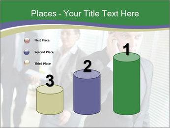 Businessman calling PowerPoint Templates - Slide 65