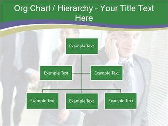 Businessman calling PowerPoint Templates - Slide 66