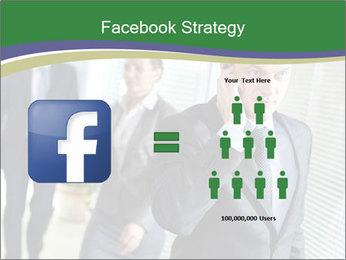 Businessman calling PowerPoint Template - Slide 7