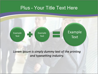 Businessman calling PowerPoint Template - Slide 75