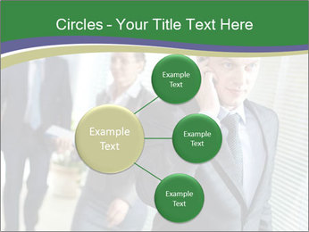 Businessman calling PowerPoint Template - Slide 79