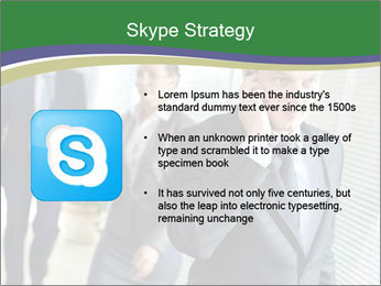 Businessman calling PowerPoint Template - Slide 8