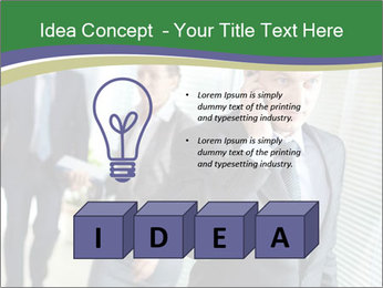 Businessman calling PowerPoint Template - Slide 80