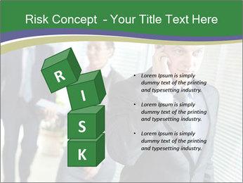 Businessman calling PowerPoint Template - Slide 81