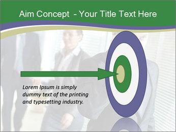 Businessman calling PowerPoint Template - Slide 83