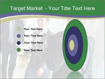 Businessman calling PowerPoint Template - Slide 84