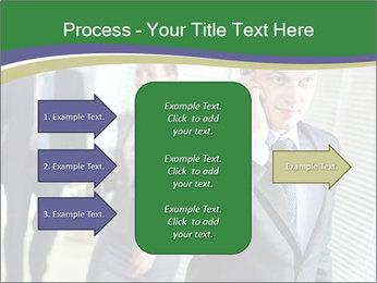 Businessman calling PowerPoint Template - Slide 85