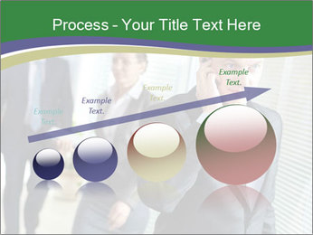 Businessman calling PowerPoint Template - Slide 87