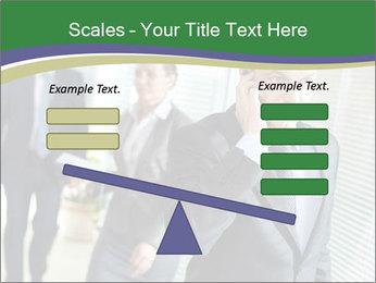 Businessman calling PowerPoint Template - Slide 89