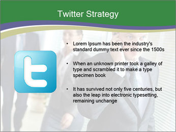 Businessman calling PowerPoint Template - Slide 9