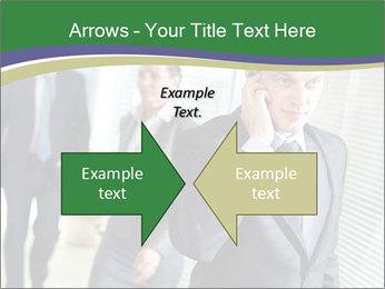 Businessman calling PowerPoint Templates - Slide 90