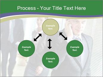 Businessman calling PowerPoint Template - Slide 91