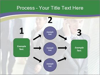Businessman calling PowerPoint Template - Slide 92