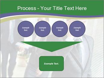 Businessman calling PowerPoint Template - Slide 93