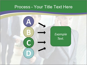 Businessman calling PowerPoint Template - Slide 94