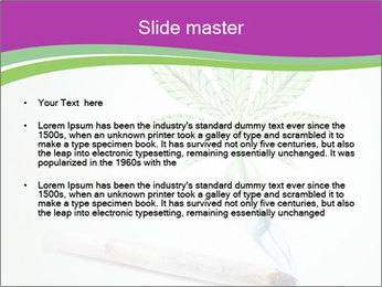 Marijuana PowerPoint Template - Slide 2