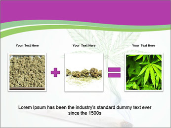 Marijuana PowerPoint Template - Slide 22