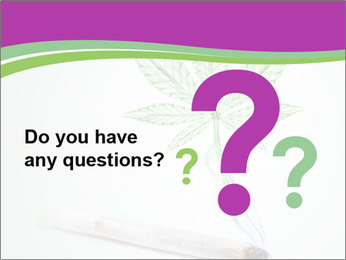 Marijuana PowerPoint Template - Slide 96