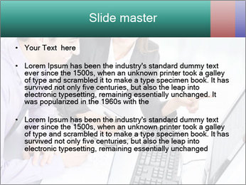 People working PowerPoint Templates - Slide 2