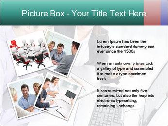 People working PowerPoint Templates - Slide 23