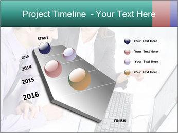 People working PowerPoint Templates - Slide 26
