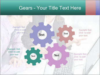 People working PowerPoint Templates - Slide 47