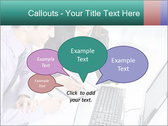 People working PowerPoint Templates - Slide 73