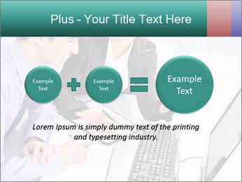 People working PowerPoint Templates - Slide 75