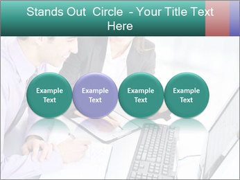 People working PowerPoint Templates - Slide 76