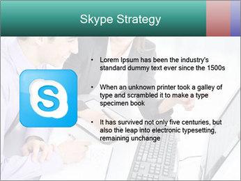 People working PowerPoint Templates - Slide 8