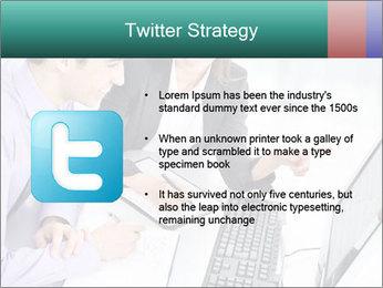 People working PowerPoint Templates - Slide 9