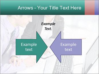 People working PowerPoint Templates - Slide 90