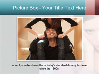 Young couple PowerPoint Template - Slide 16