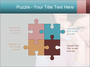 Young couple PowerPoint Template - Slide 43