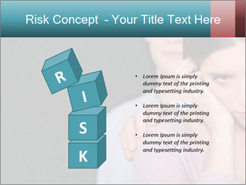 Young couple PowerPoint Templates - Slide 81