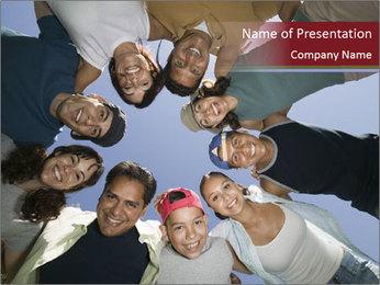 Friends PowerPoint Template - Slide 1