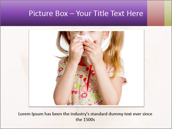 Pretty blond PowerPoint Template - Slide 16