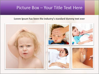 Pretty blond PowerPoint Template - Slide 19