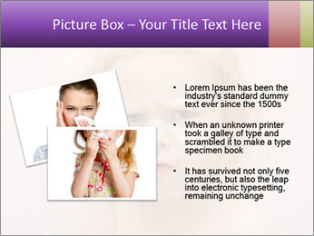 Pretty blond PowerPoint Template - Slide 20