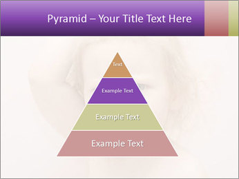 Pretty blond PowerPoint Template - Slide 30