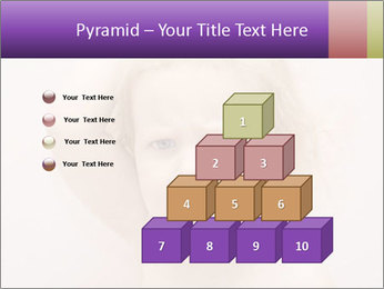 Pretty blond PowerPoint Template - Slide 31