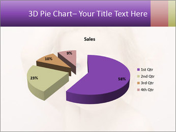 Pretty blond PowerPoint Template - Slide 35