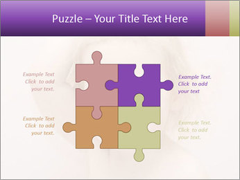 Pretty blond PowerPoint Template - Slide 43