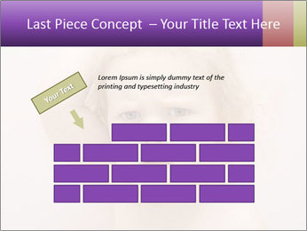 Pretty blond PowerPoint Template - Slide 46