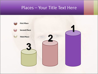 Pretty blond PowerPoint Template - Slide 65