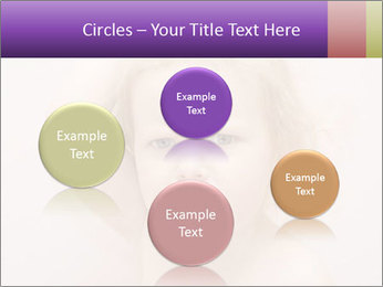 Pretty blond PowerPoint Template - Slide 77