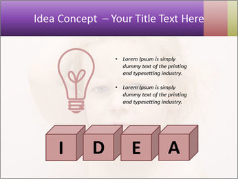 Pretty blond PowerPoint Template - Slide 80
