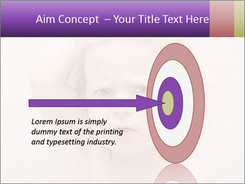 Pretty blond PowerPoint Template - Slide 83