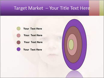 Pretty blond PowerPoint Template - Slide 84