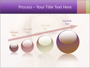 Pretty blond PowerPoint Template - Slide 87